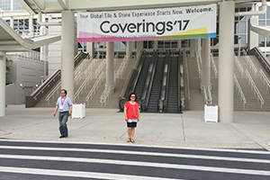 Amerika Coverings Fuarı 2017